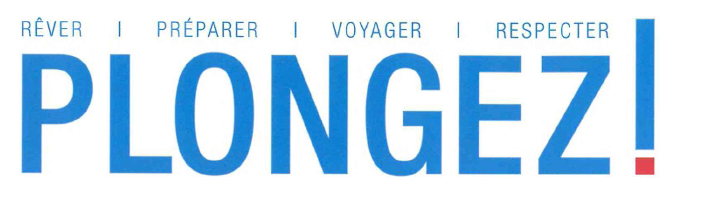 logo magazine plongez